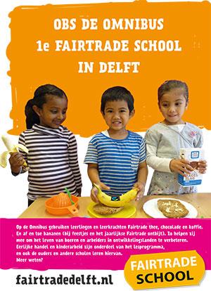Poster Omnibus Fairtrade school